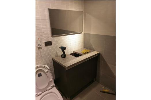 浴室裝修 - 洗手台浴櫃裝修
