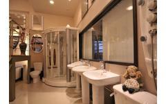 衛浴設備-浴櫃洗手台實景展示3